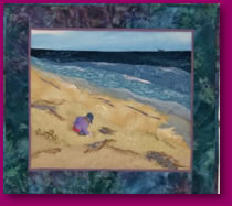 Virginia Beach Fabric Art Textiles