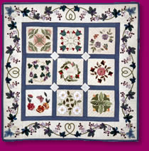 Miniature Baltimore Album Quilt